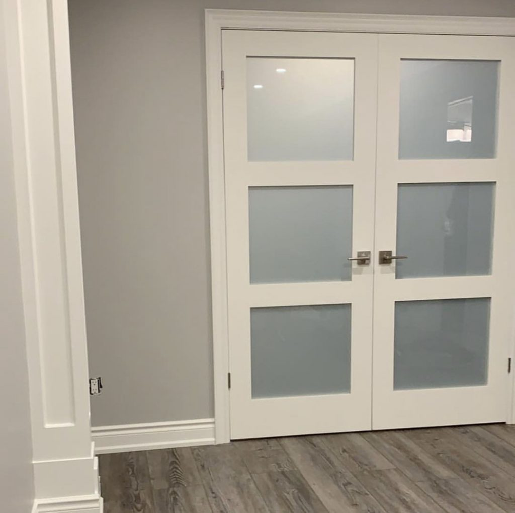 interior door replacement and painting