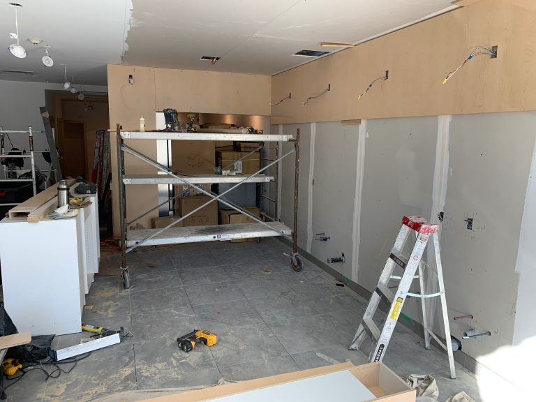 drywall replacement