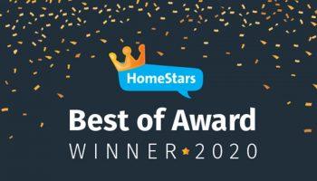 Prestige Painting & Contracting Ltd. Crowned 2020 HomeStars Best of Award Winner!