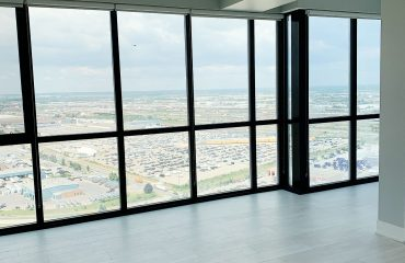gray interior painting in luxury condo by prestige painting